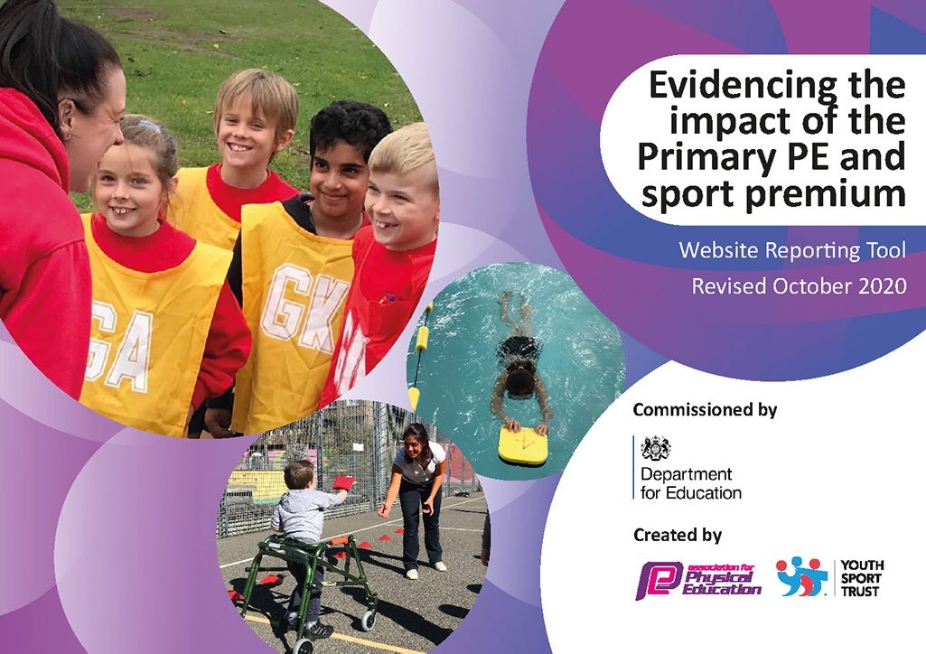 New Updated Template to Report on PE and Sport Premium 2020-21 | VisionED